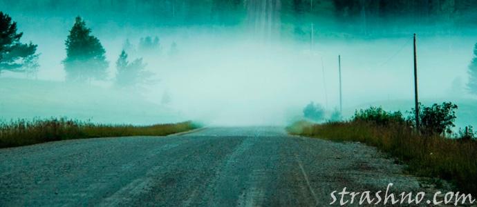 мистическая встреча на дороге