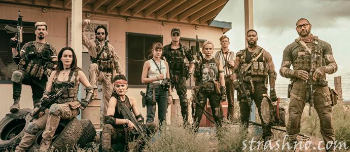 кадр из фильма ужасов Армия мертвецов