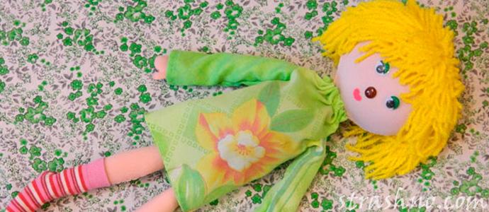 мистика с тряпичной куклой