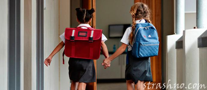 девочки учатся в гимназии