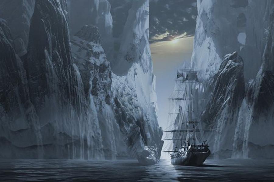 корабль-призрак Октавиус