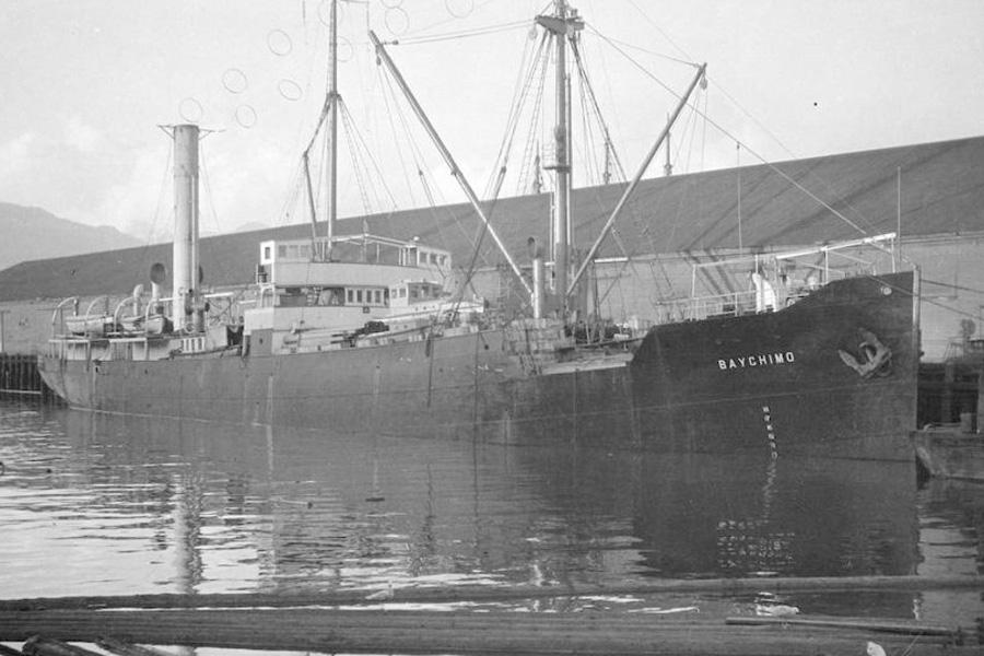 корабль-призрак SS Baychimo