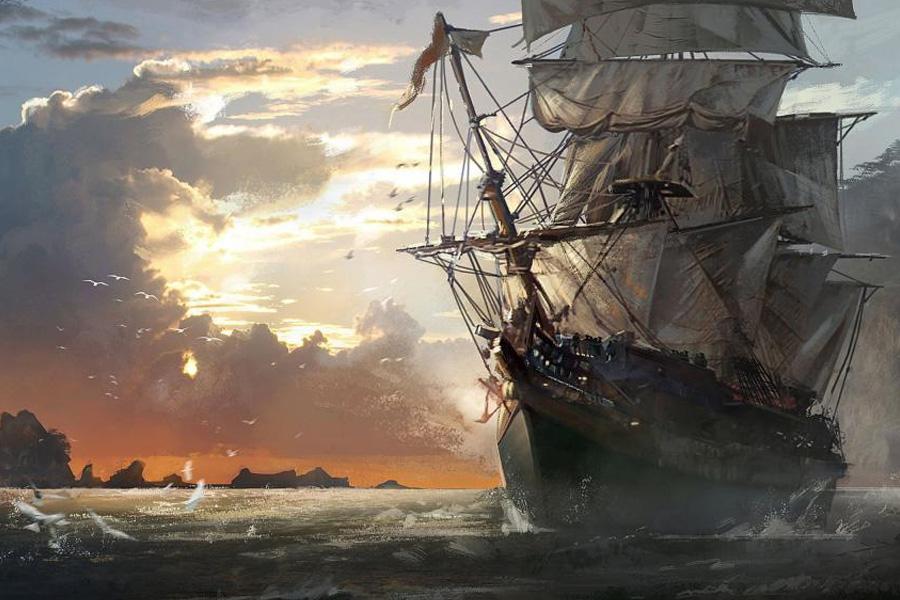 корабль-призрак Кэрролл А. Диринг