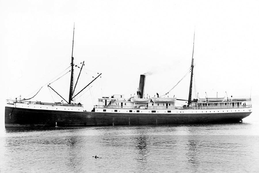 корабль-призрак SS Valencia