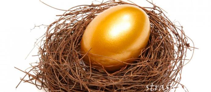 золотое пасхальное яйцо в вещем сне