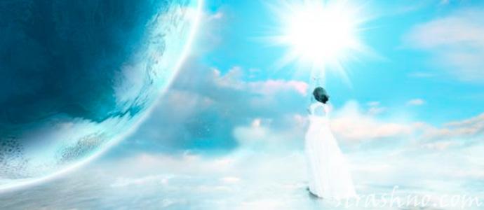 свет от Ангела хранителя