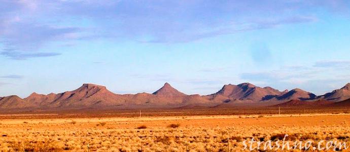мистическая зона в Мексиканской пустыне