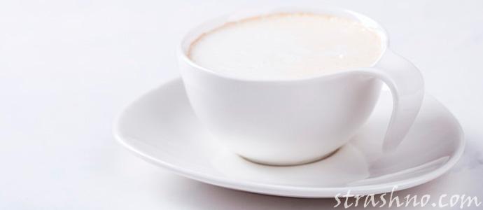 чашка с молоком для Домового