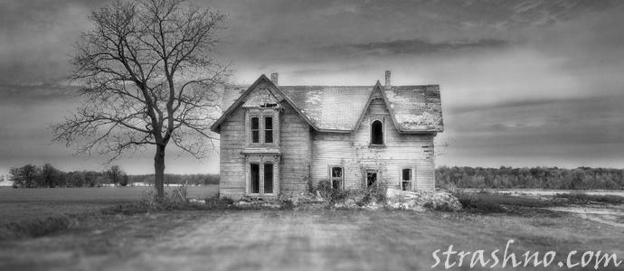 проклятый и заброшенный дом