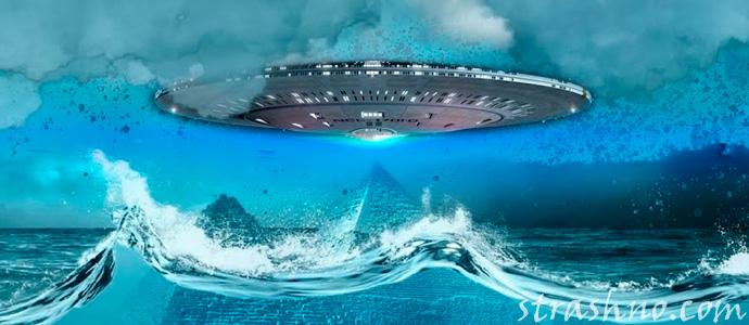 инопланетяне над Бермудским треугольником