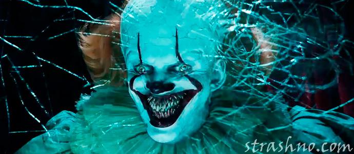 страшное лицо героя хоррора